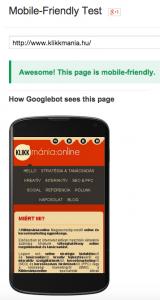 Technikai SEO: Mobilbarát oldal