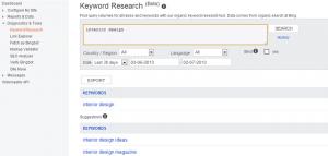 Bing kulcsszótervező