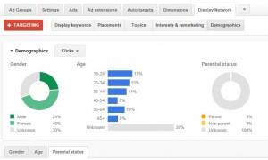 Google Display Network - Parental Status