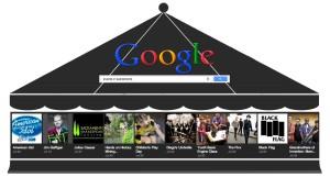 Google Carousel - Körhinta