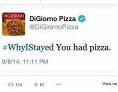 Közösségi média bakik - 2014: DiGiorno Pizza
