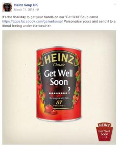 Hűséges ügyfelekkel való kapcsolattartás a közösségi hálózaton - Heinz