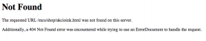 10 e-kereskedelmi hiba: MediaMarkt 404