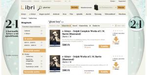 10 e-kereskedelmi hiba: Libri