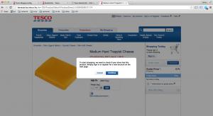 10 e-kereskedelmi hiba: Tesco