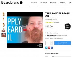 E-commerce stratégia - Beardbrand
