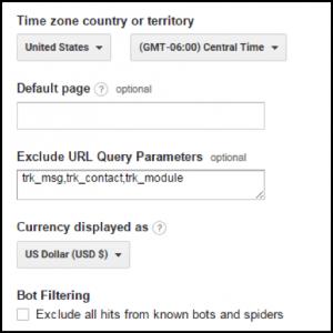 E-kereskedelem: Google Analytics URL paraméterek eltávolítása