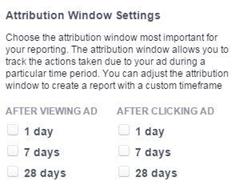 Facebook hirdetések - Attribúciós modellek beállítása