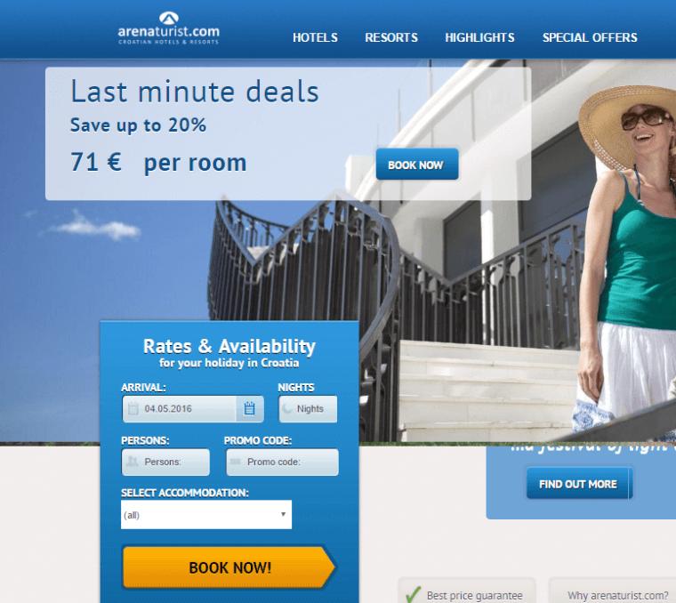 Erősítsd weboldalad konverziós arányát - Arenaturist