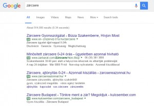 Google AdWords: Display vs. Search - Hely szerinti célzás