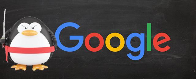 Google Pingvin harcos