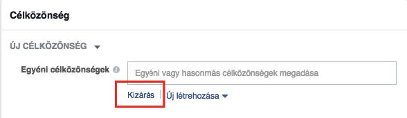 Facebook Pixel: Retargeting kizárás