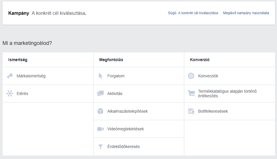 facebook-kampanytipus