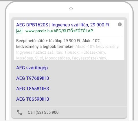 google-adwords-hirdetes-testreszabok