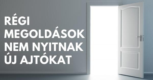 új ajtó